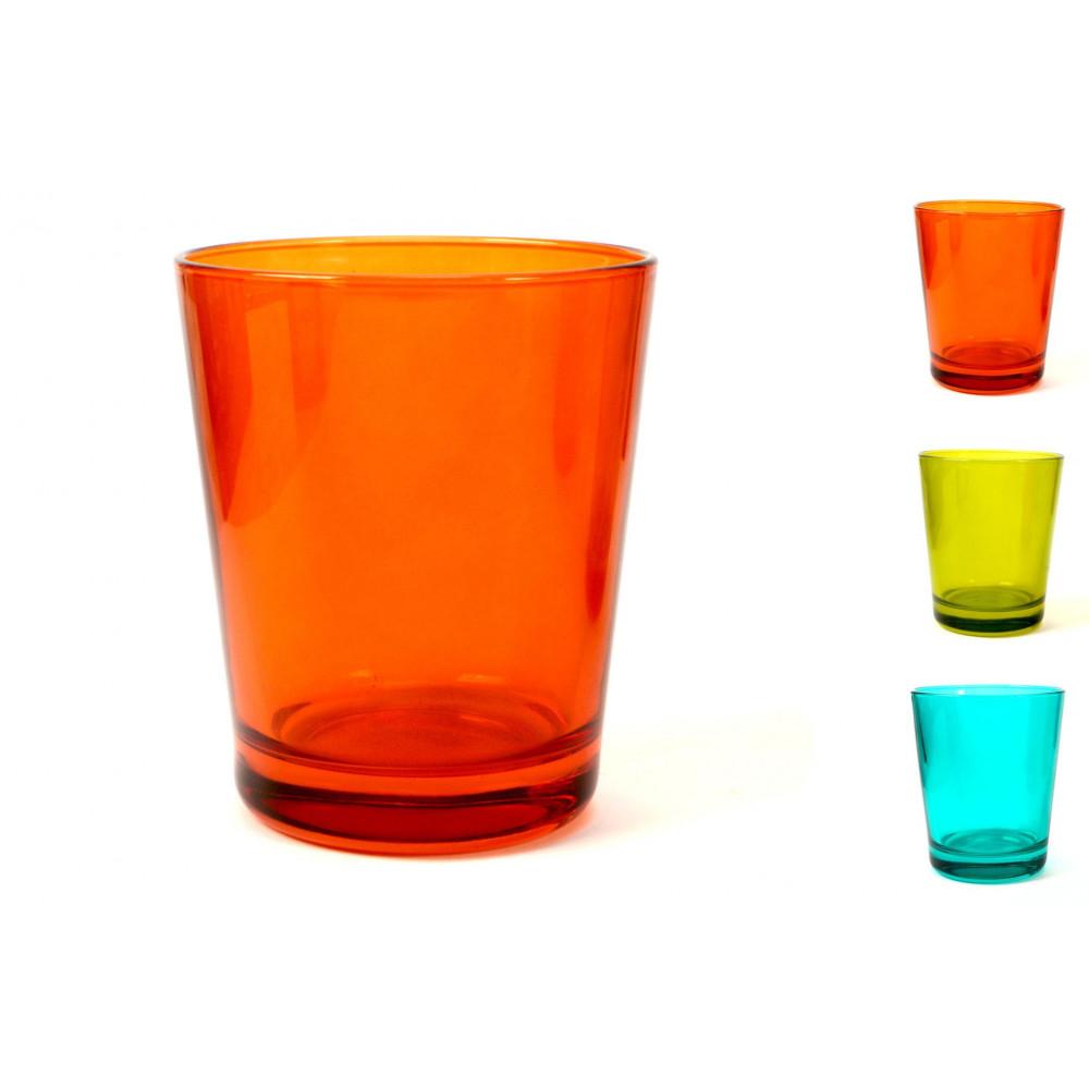 Bicchiere acqua 30 cl Castore colori