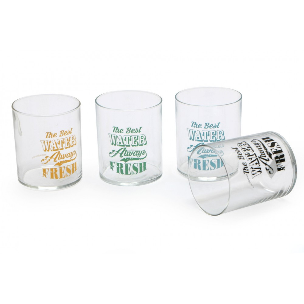 Bicchieri acqua 28 cl Vintage Label