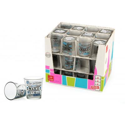 Bicchieri acqua 26 cl Water in espositore