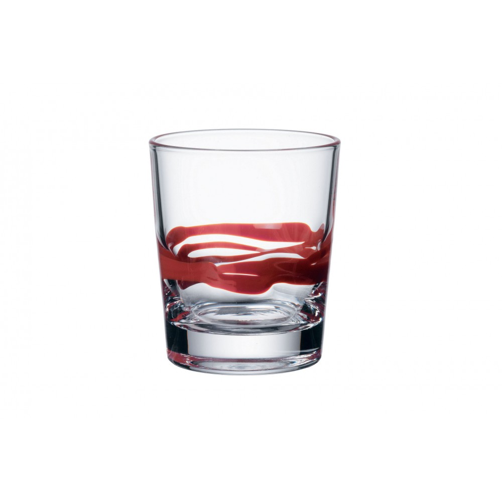 Glass of water 12 cl Red Sealing Wax