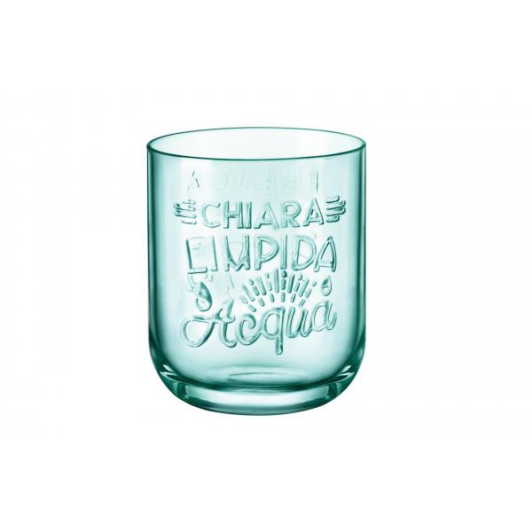 Bicchiere acqua 39,5 cl Graphica Verde