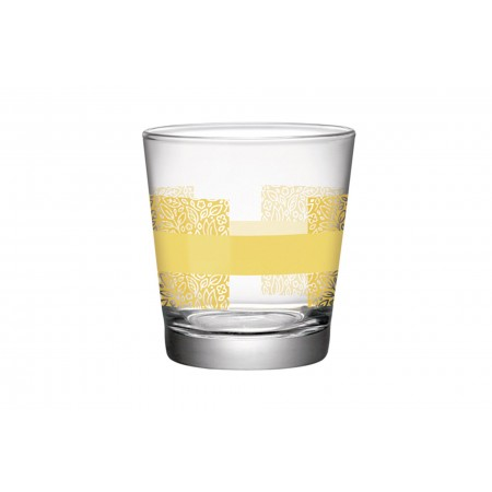 Water glass 24 cl Naturally Yellow Sestriere