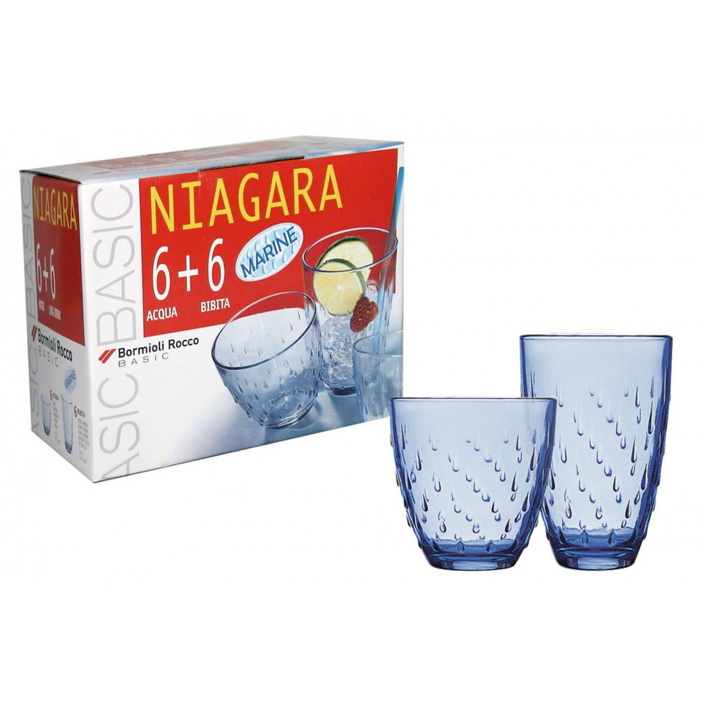 Water and soft drink glasses Niagara