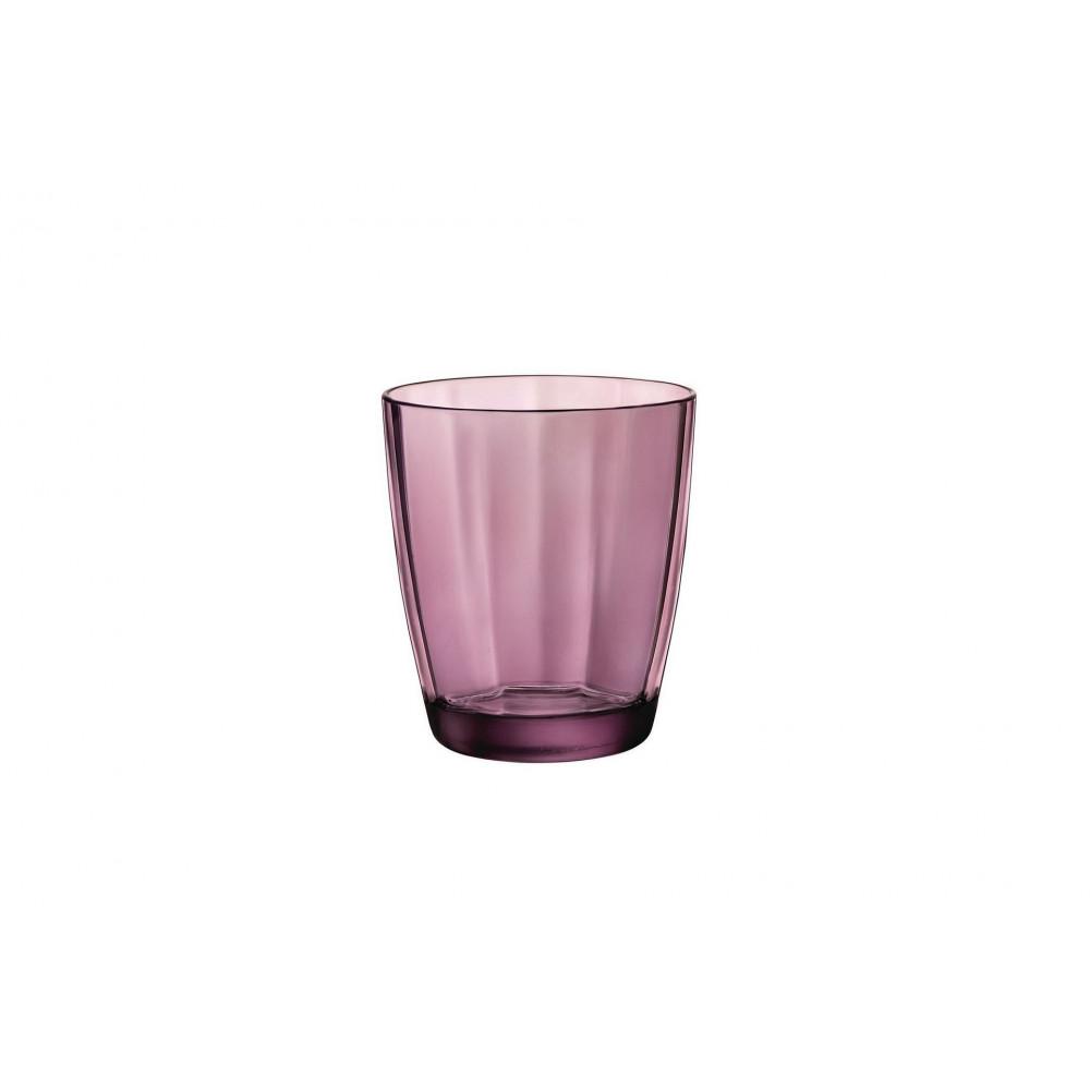 Water glass 30 cl Pulsar Rock Purple