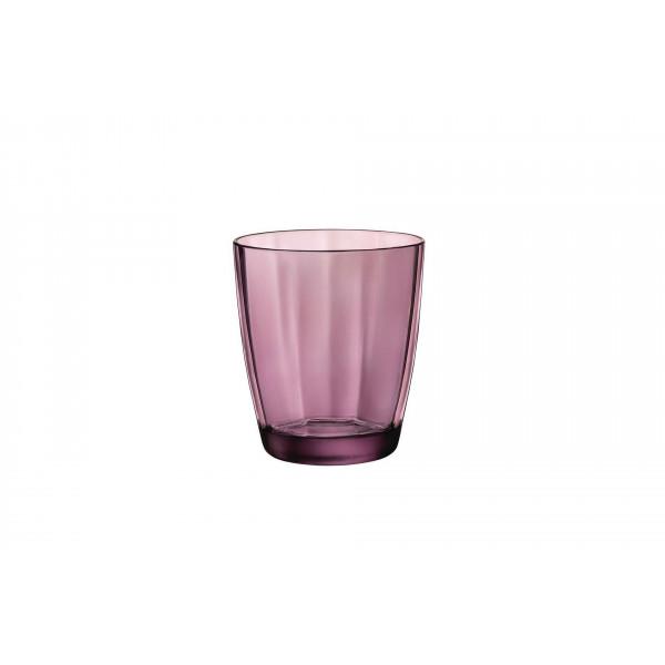 Water glass 39 cl Pulsar Rock Purple