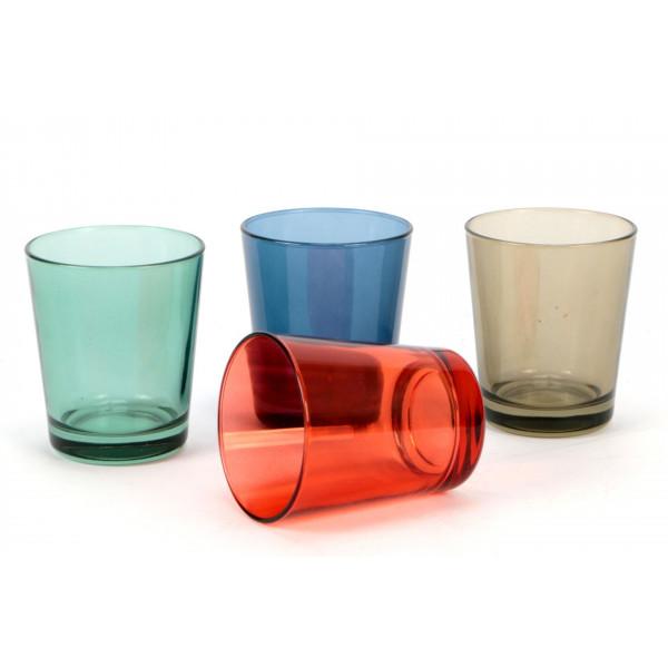 Bicchieri 30 cl Botanic Castore confezione da 4 pezzi