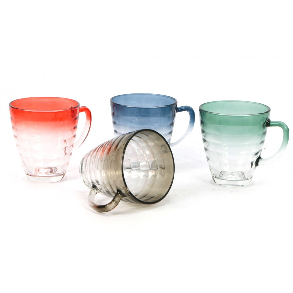 Cups 31 cl Botanic pack of 4 pieces