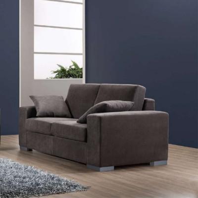 Canapé Fiore 2 places, style moderne, tissu amovible et lavable