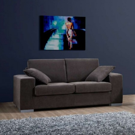 Fiore 2 seater sofa, modern style, removable and washable fabric