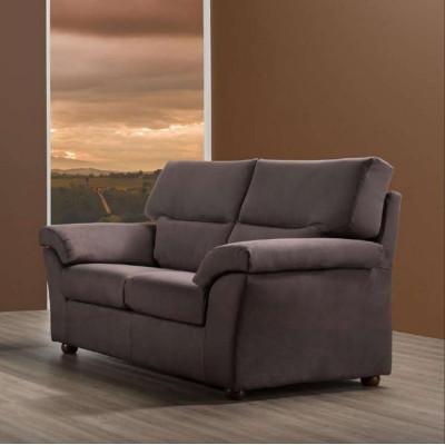 Canapé Dante 2 places, style moderne, tissu amovible et lavable