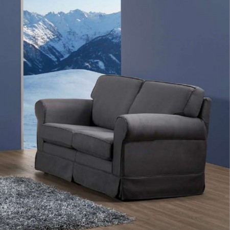 Otello sofa 2 seater modern style removable and washable fabric