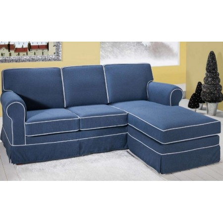 Otello sofa with modern style peninsula, removable and washable fabric