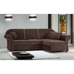 Niko 3 seater sofa with modern style peninsula, removable and washable fabric