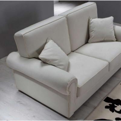 Canapé Berto 2 places de style classique, amovible et lavable