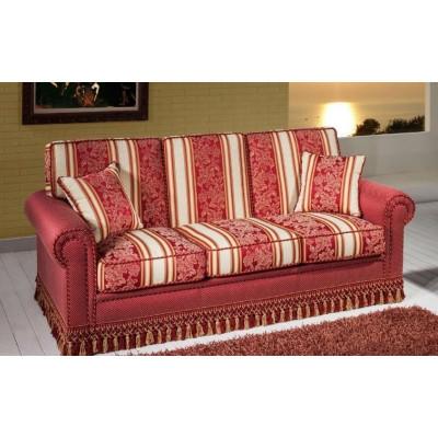 Berto 3 seater sofa classic style,