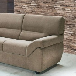 Golia 2 seater sofa, modern style, removable and washable fabric