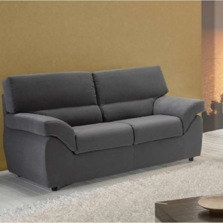 Golia 3 seater sofa, modern style, removable and washable fabric