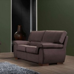 Icaro 2 seater sofa, modern style, removable and washable fabric