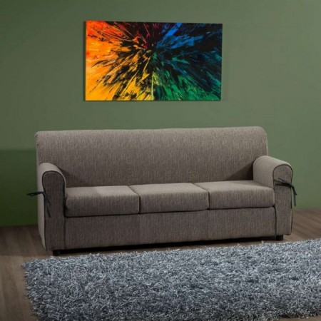 Moris 3 seater sofa, modern style, removable and washable fabric