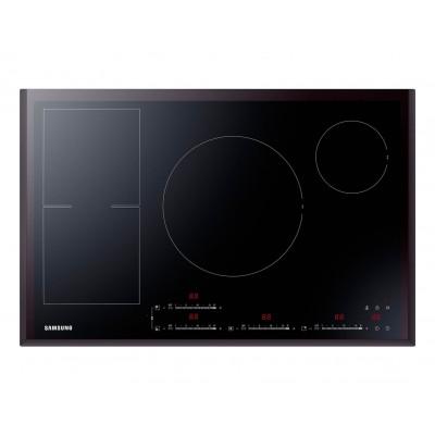 Samsung NZ84F7NC6AB Noir Encastrable 80 cm Induction 4 cuisinière(s)