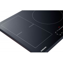 Samsung NZ84F7NC6AB Black Built-in 80 cm Induction 4 cooker (s)