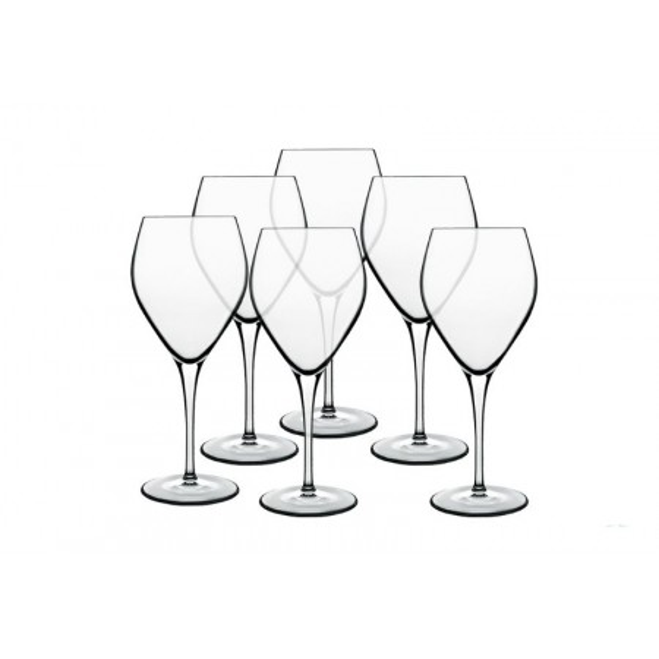 BORMIOLI LUIGI, ATELIER - PACK OF 6 GREAT WINE GLASSES CL.55 10411-02