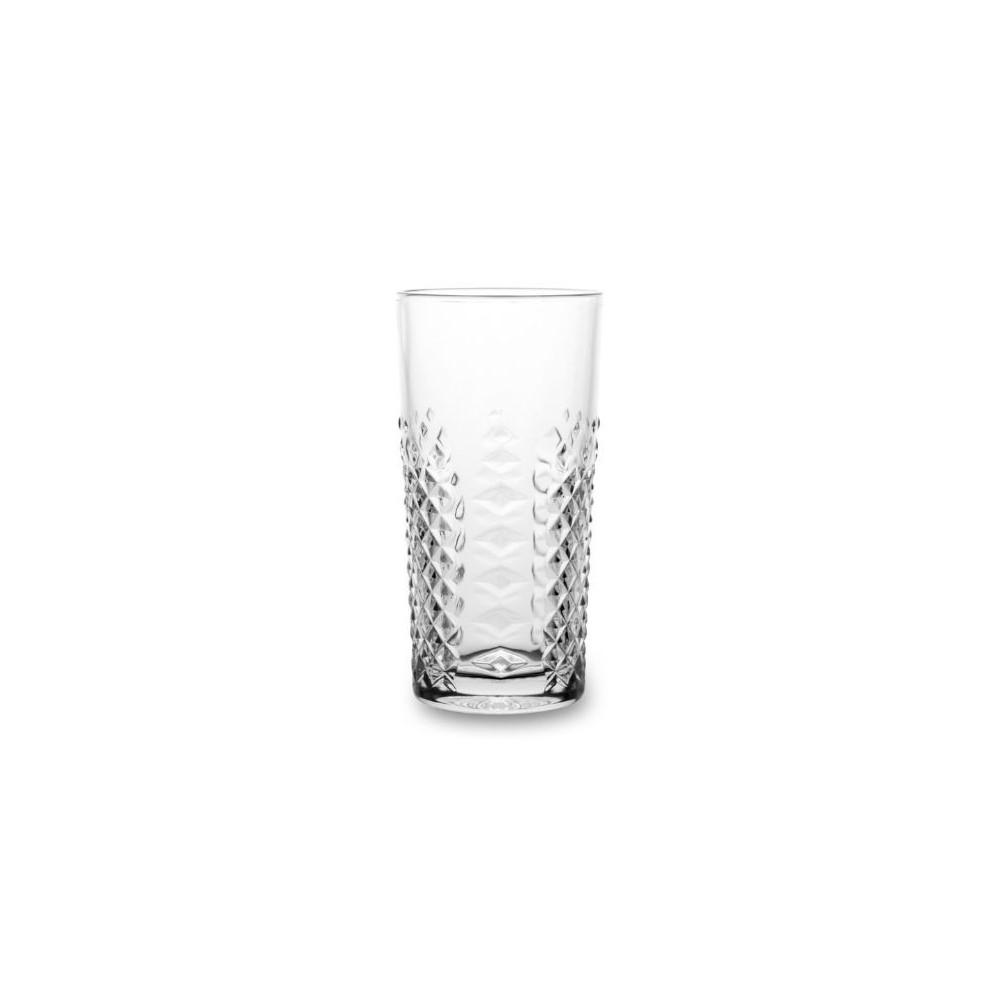 BORMIOLI LUIGI CARATS - HI-BALL GLASS