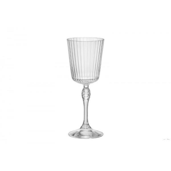 BORMIOLI ROCCO AMERICA '20S CONFEZIONE DA 6 CALICI COCKTAIL GLASS H.20,2 CL.25 DIAMETRO 7,8 122129