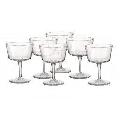 BORMIOLI ROCCO BARTENDER-PACK OF 6 SPARKLING WINE GLASSES CL 22 122114