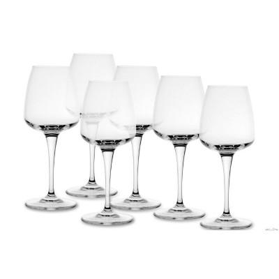 BORMIOLI ROCCO AURUM - PACK OF 6 WHITE WINE GLASSES CL 35