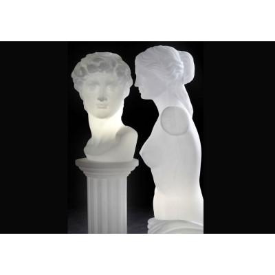 Slide , Venus light sculpture, in