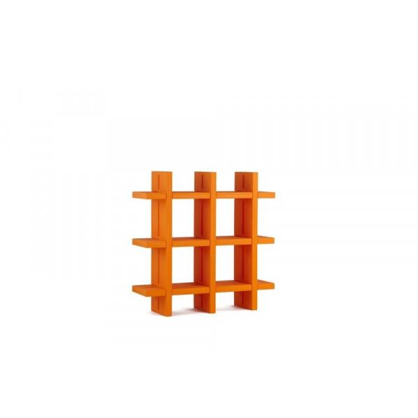 Giò Colonna Romano modular modular bookcase MY BOOK 3X3