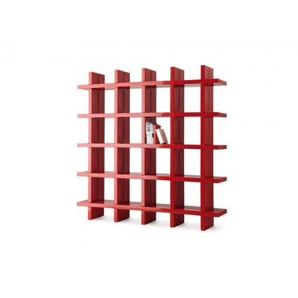 Bibliothèque modulable modulable Giò Colonna Romano MY BOOK 5X5