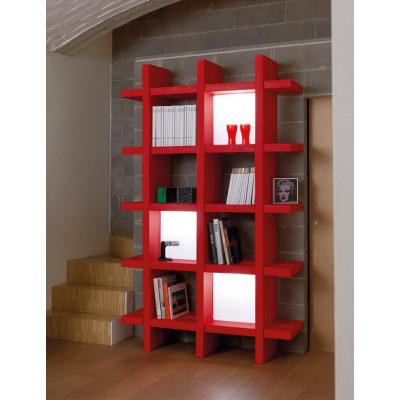 Giò Colonna Romano libreria componibile modulare MY BOOK 5X5
