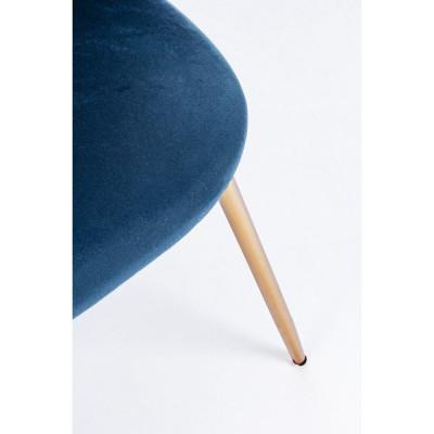 Bizzotto TANYA CHAIR dark blue velvet,