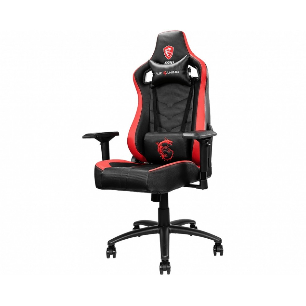 MSI MAG CH110 video game chair PC gaming chair Black, Red