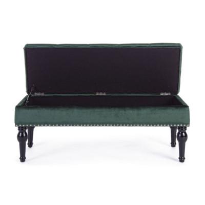 Bizzotto Bernard storage bench, dark