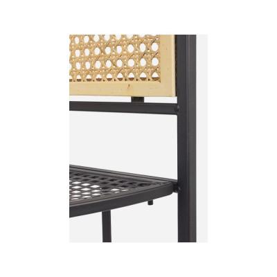 Bizzotto ELYOT meuble d'angle 4 étages structure acier