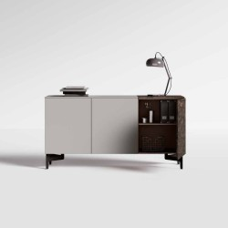 Vals 240 sideboard 3.4 doors with push pull opening