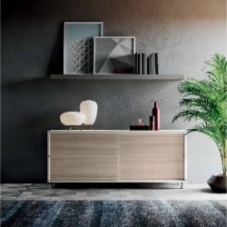 Slide sideboard with...