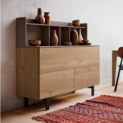 Buffet sideboard with top...