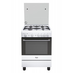 Hotpoint H6GG1F (W) IT Piano cottura Gas Bianco A
