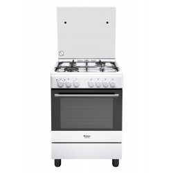 Hotpoint H6TMH2AF (W) IT cucina Piano cottura Gas Bianco A