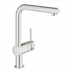 GROHE Minta Stainless steel...