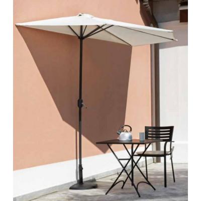 Half umbrella Ø 3 m, ecru