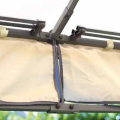 GAZEBO QUADRATO 3 x 3 m poliestere