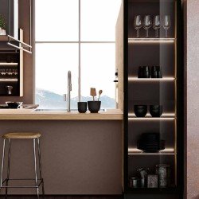 Cucina componibile moderna di Imab Group Capri DM0658