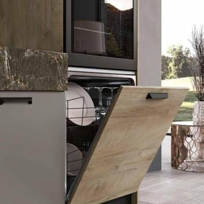 Modern modular kitchen by Imab Group Capri DM0659