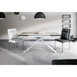 Astrid extendable table, with 2