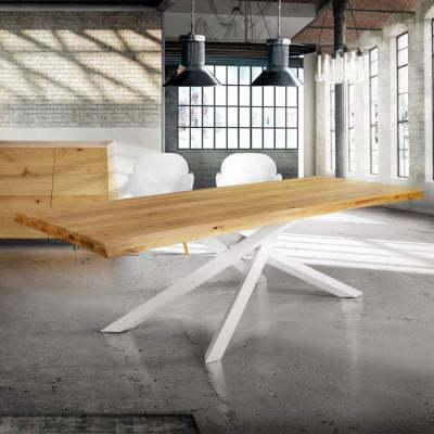 Table fixe Astro en chêne...
